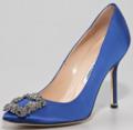 [fashion]Manolo Blahnik something blue