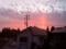 これは前撮った夕焼け