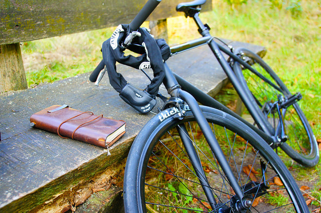 Cycling with Traveler's note