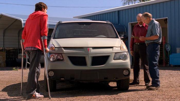 『ブレイキング・バッド』で、ウォルターは修理に出した車を取りに来る
