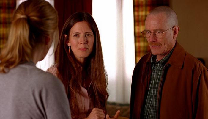 『ブレイキング・バッド』で、グレチェンはウォルター家を去る