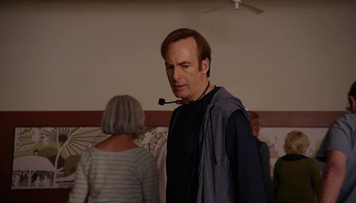 『ベター・コール・ソウル』で、ジミーが老人たちを食いものにしようとしてるのを知った老人たちはShame on youと言って部屋を出ていく