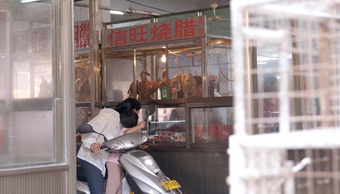 『世界の今をダイジェスト』で、中国の生鮮食料品市場(wet market)