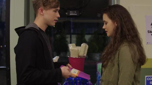 『13の理由』で、ライアンがハンナに仲直りの印として日記を贈る