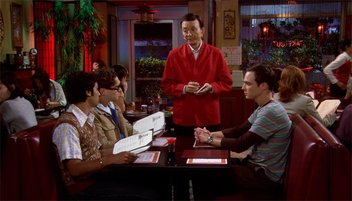 『ビッグバン★セオリー』で、シェルドン達は中華レストランで注文で揉める