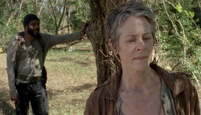 『ウォーキング・デッド』で、タイリースは可憐の夢の話をキャロルに語る