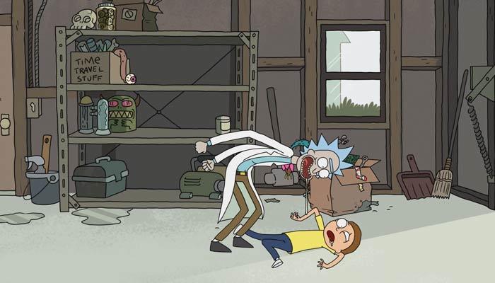 『リック・アンド・モーティ』で、リックはモーティに何度でも冒険に出ようと迫る