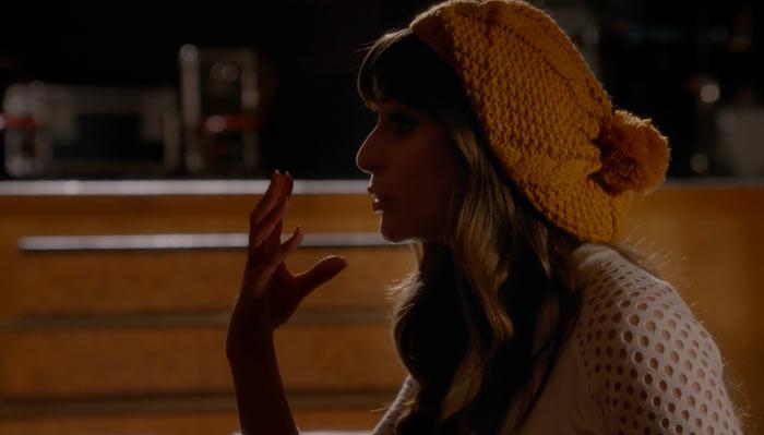 『glee/グリー』で、レイチェルは自分が健康であることを中国人がマスクをすることに例えて言う