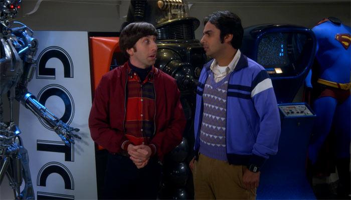 『ビッグバン★セオリー』で、自分のことは棚に上げて、母親と同居する男性をyikesするハワード