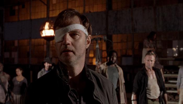 『ウォーキング・デッド』で、ガバナー(総督)は市民に自分の甘さを謝る