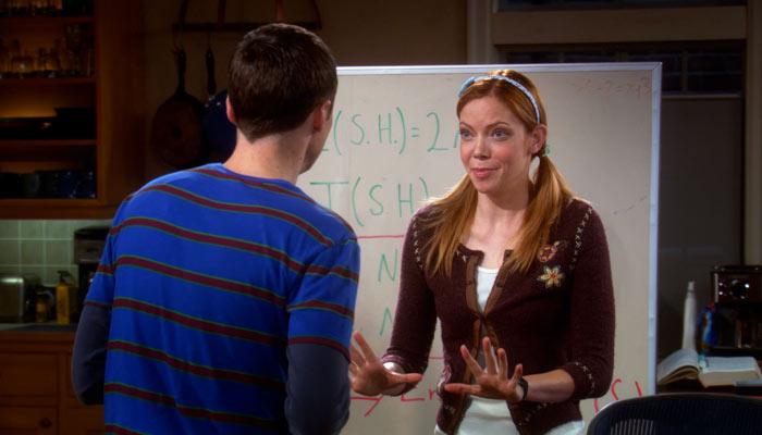 『ビッグバン★セオリー』で、ラモナはシェルドンからの感謝の言葉に「そんなことは・・」と言う
