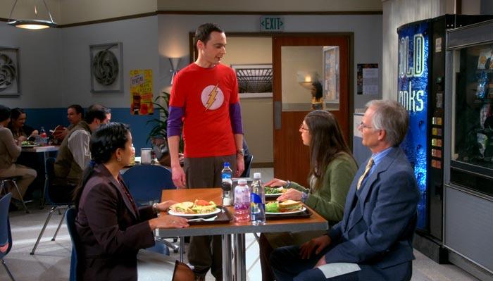 『ビッグバン★セオリー』で、シェルドンはエイミーのフォーマルな接し方に「止めて」と言う