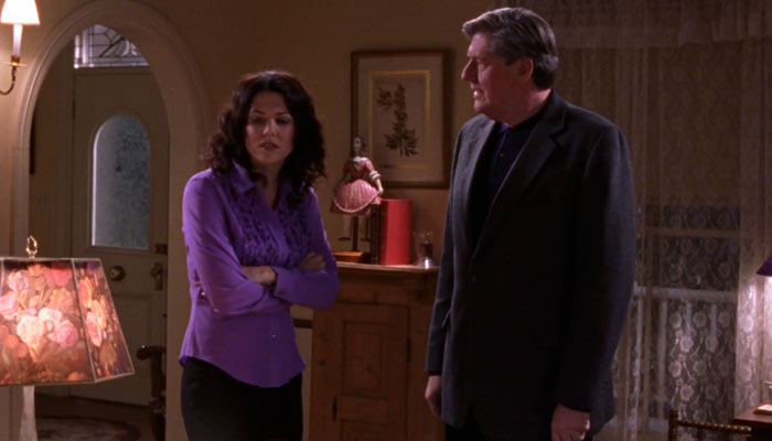 ギルモア・ガールズで、ローレライが父リチャードに食って掛かる