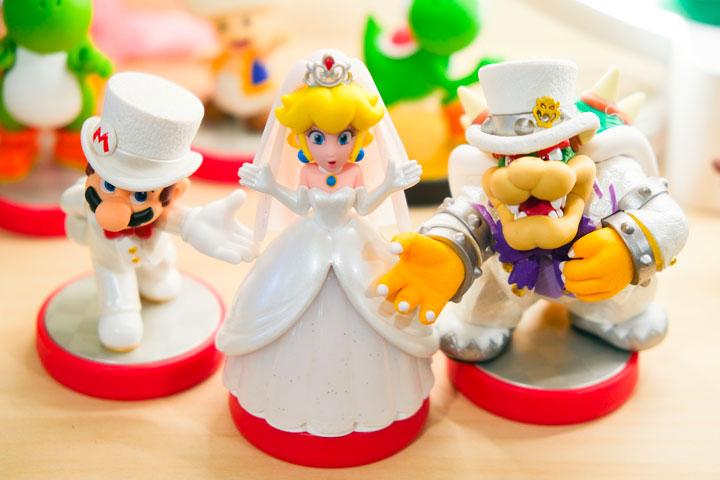 ピーチ姫にマリオとクッパが求婚