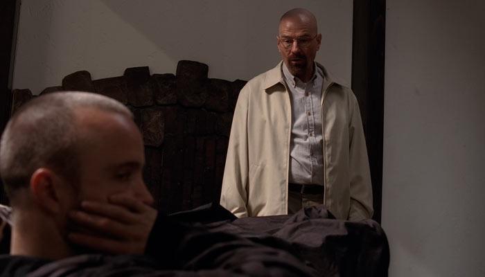 『ブレイキング・バッド』で、大金を寄付すると言いだしたジェシーにウォルターが理由を尋ねる