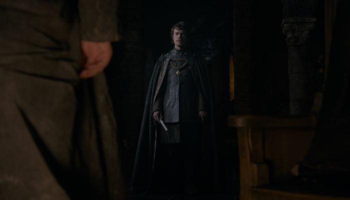 『ゲーム・オブ・スローンズ』で、シオンは父にネッド・スタークが死んだことを伝える