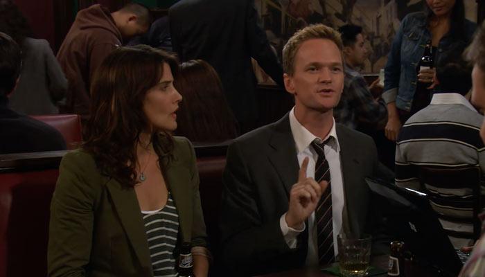 『ママと恋に落ちるまで』で、バーニーはバスに居る狂った人のことを話す