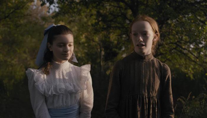 『アンという名の少女』で、アンとダイアナは友だちになる