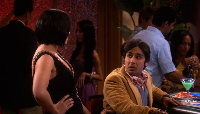 『ビッグバン★セオリー』で、ラジは自分のミドルネームを「パーティー」と言う