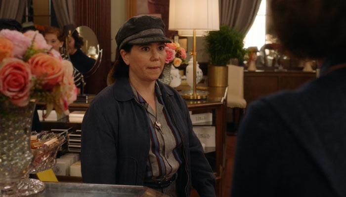 『マーベラス・ミセス・メイゼル』で、デパートでのミッジとスージーの会話