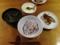 十穀米とトロロ、鶏塩焼き、韓国風スープ