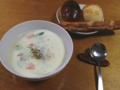 青梗菜のクリームシチュー