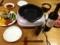 焼肉とバーニャカウダとキャベツナムル