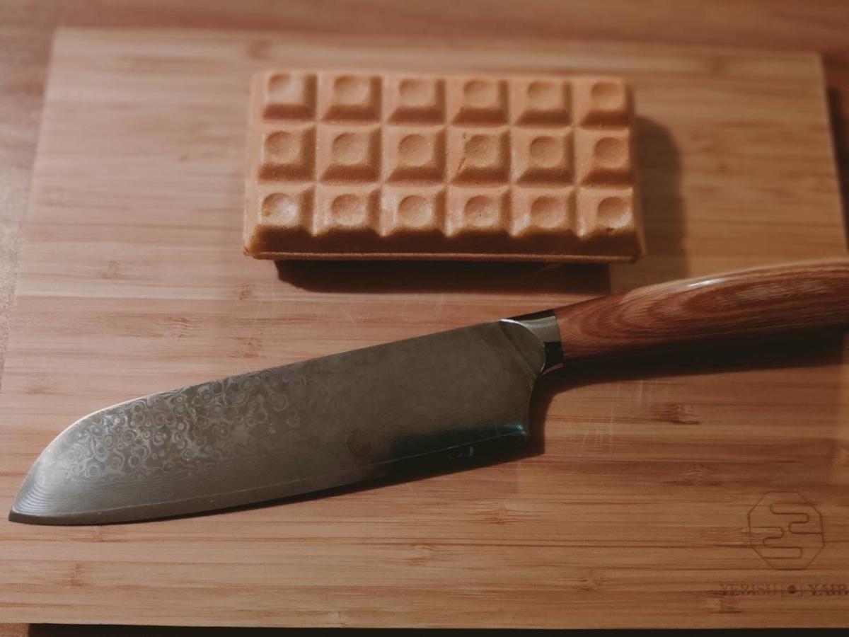 恵比寿刃hanaとチョコモナカジャンボ