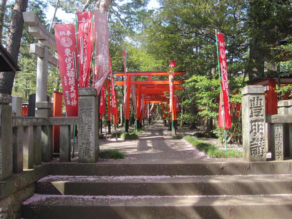 東伏見稲荷神社の紹介