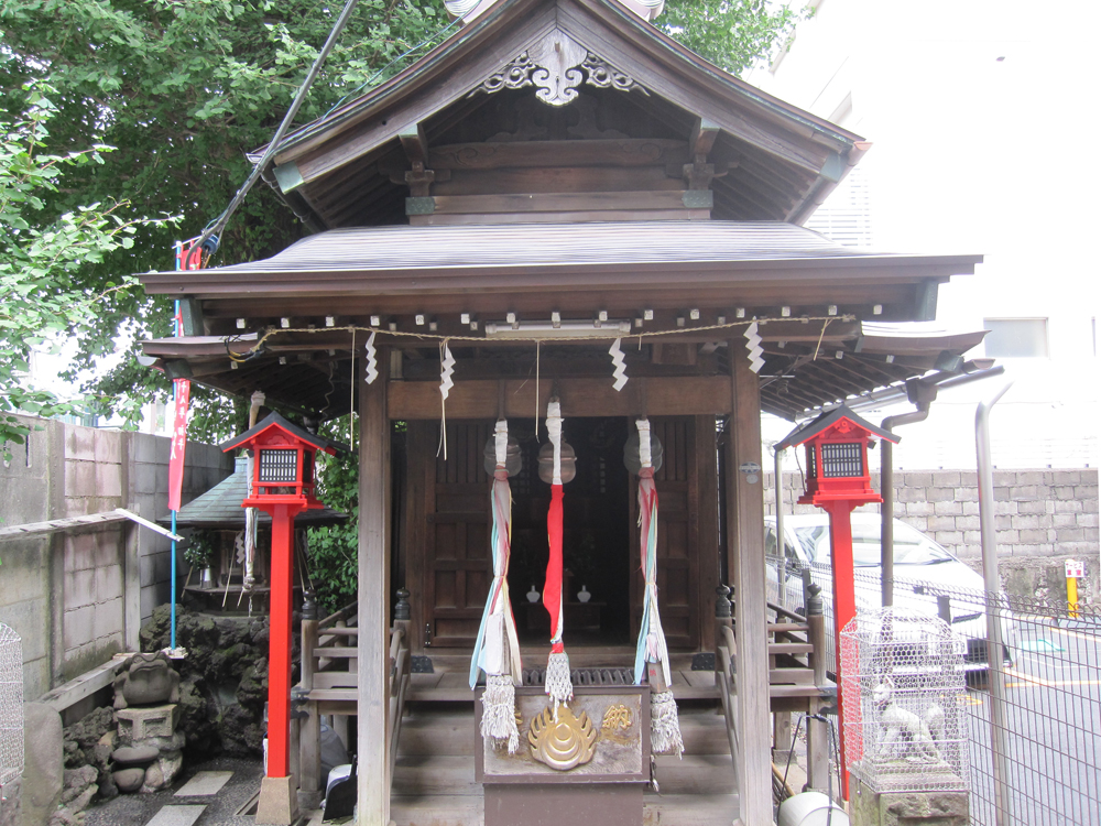 雷電稲荷神社の紹介