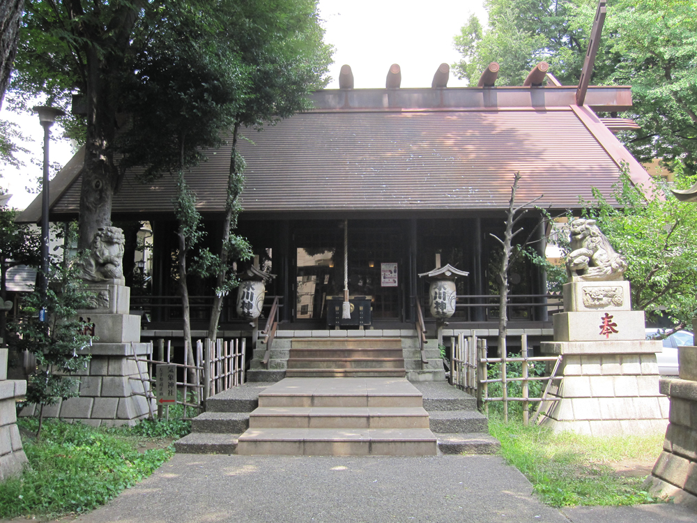 高円寺氷川神社の紹介