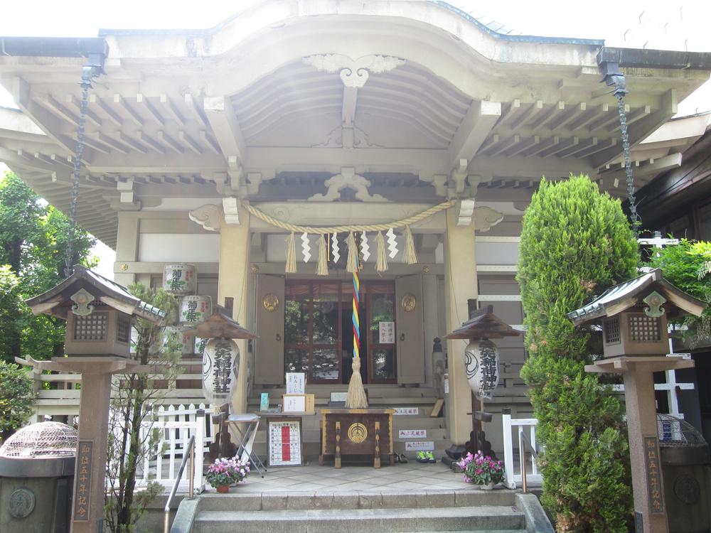 矢先稲荷神社の紹介