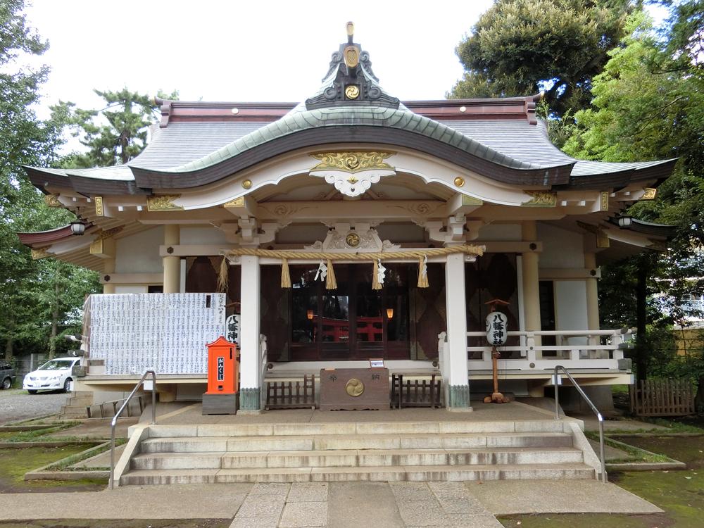 天沼八幡神社の紹介