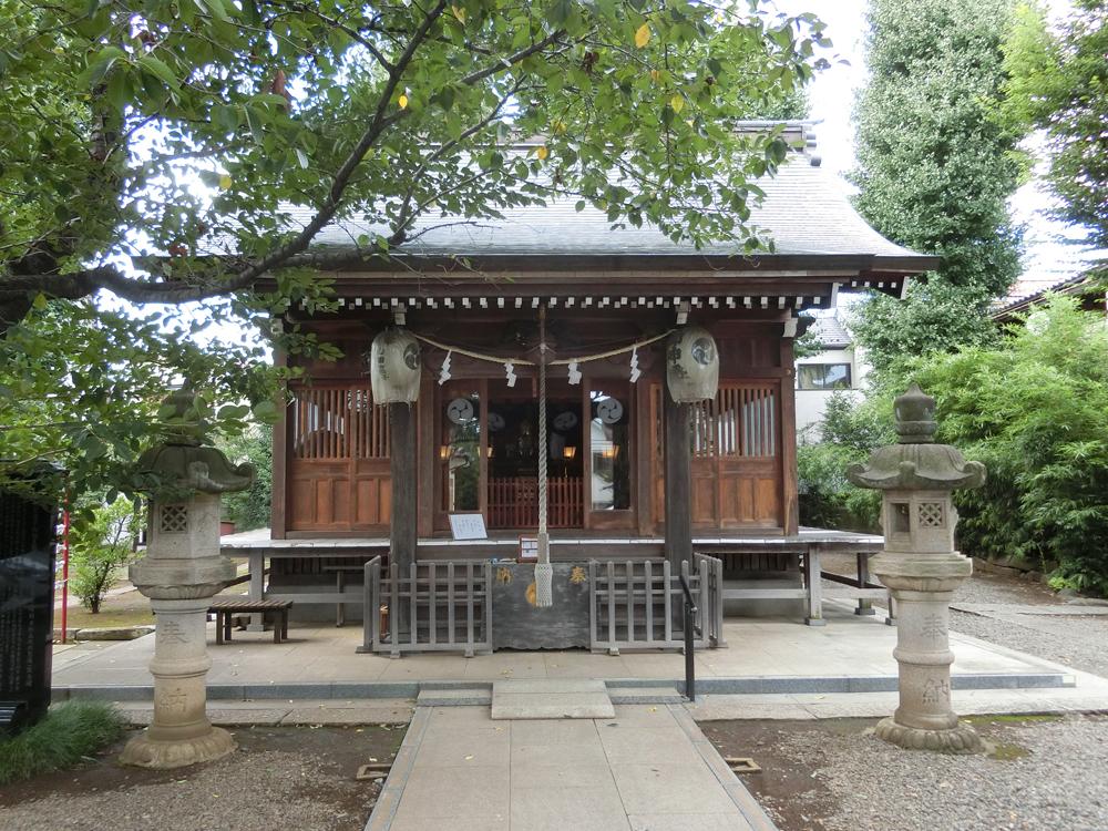 天沼熊野神社の紹介