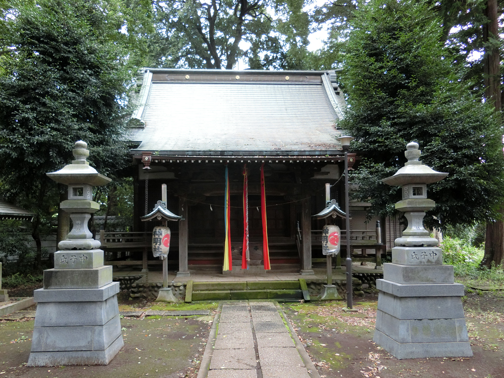 三鷹神明社の紹介