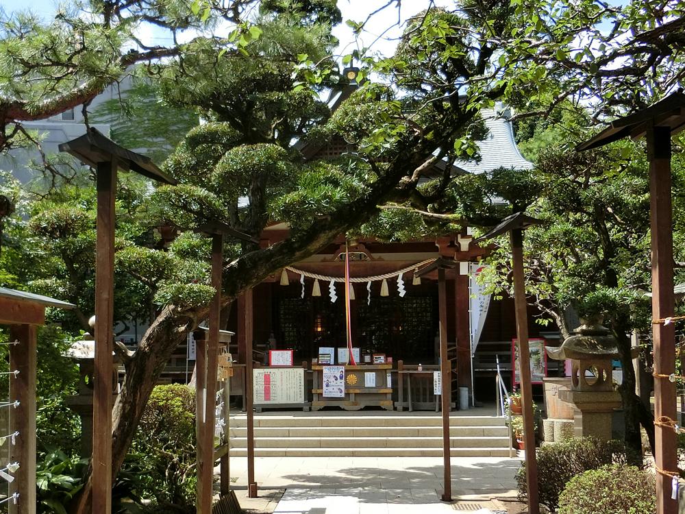 鳩森八幡神社の紹介