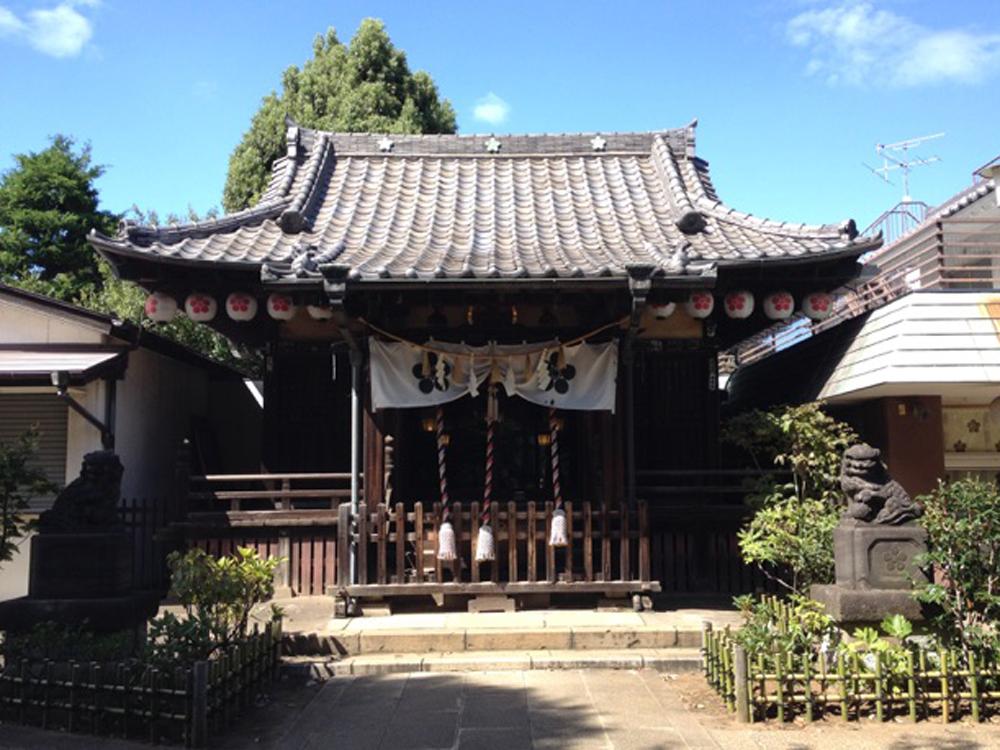 新井天神北野神社の紹介