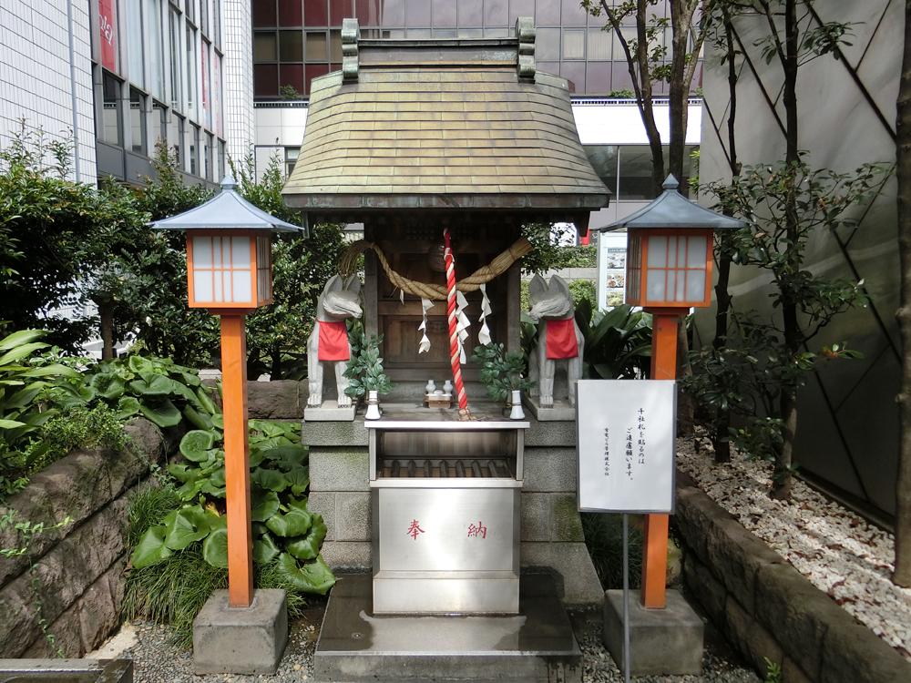 有楽稲荷神社の紹介