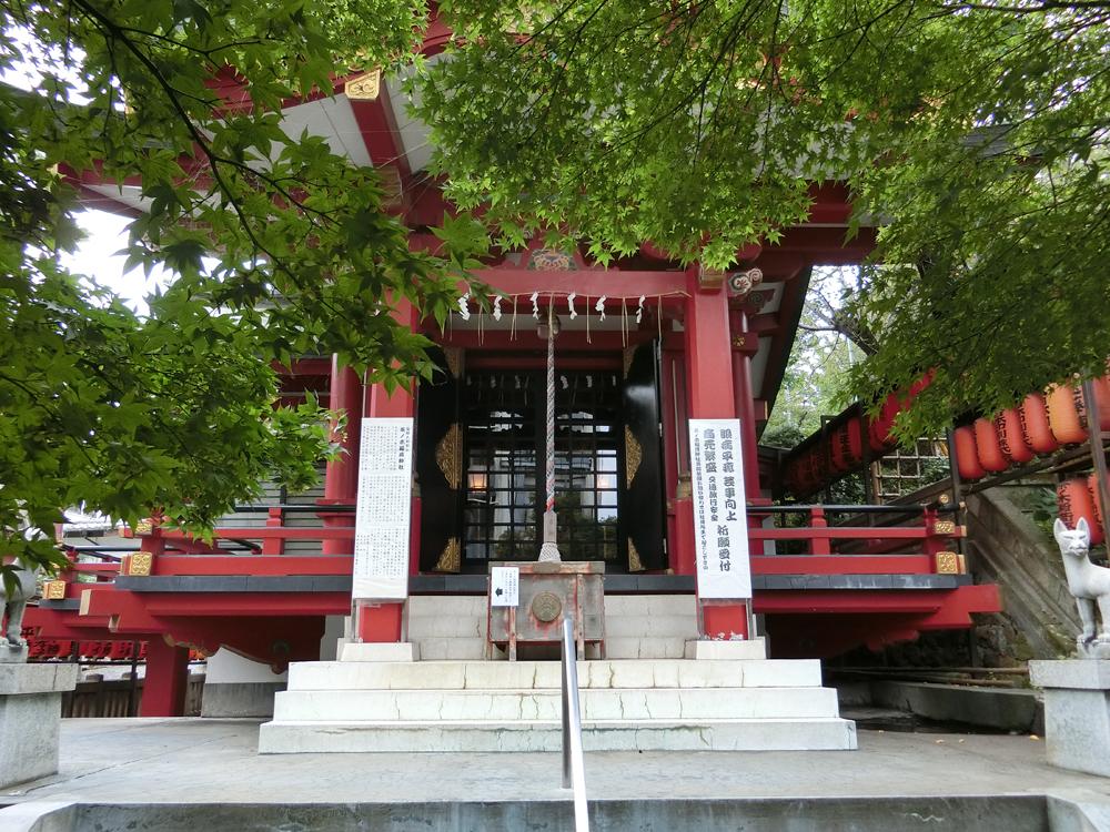 茶ノ木稲荷神社の紹介