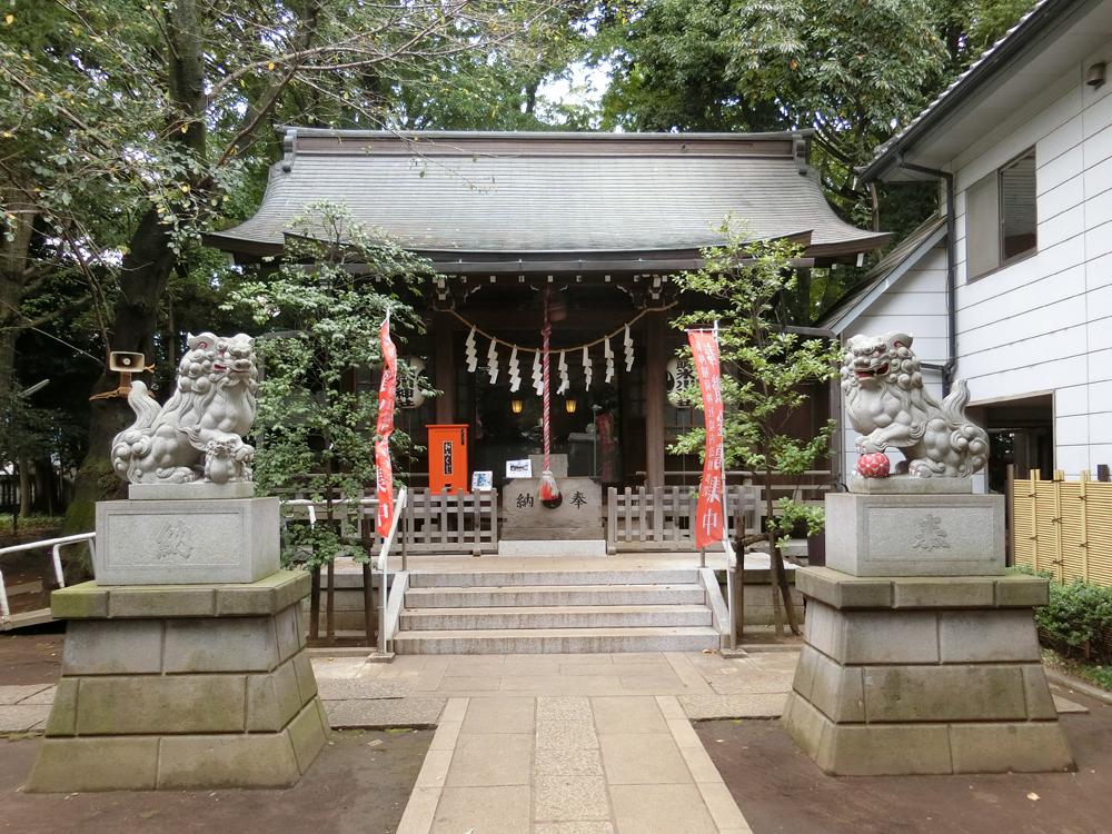 神明氷川神社の紹介