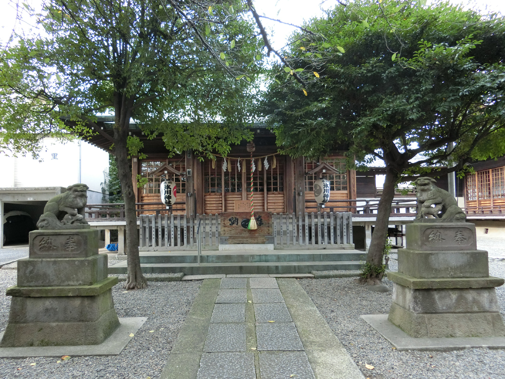 本郷氷川神社の紹介
