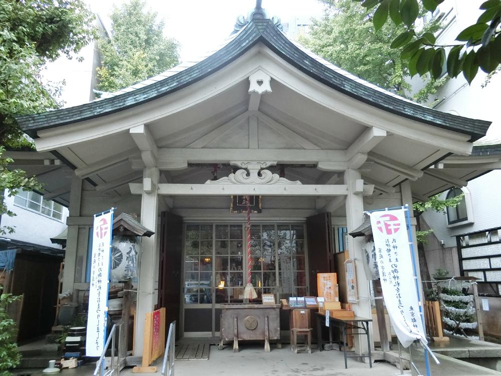 銀杏岡八幡神社の紹介