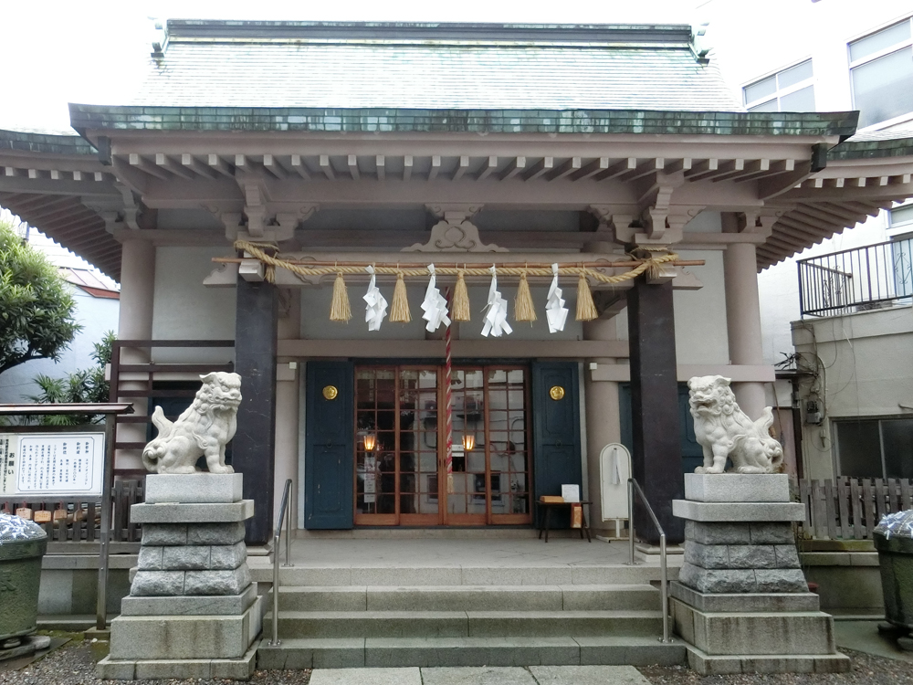 浅草橋須賀神社の紹介