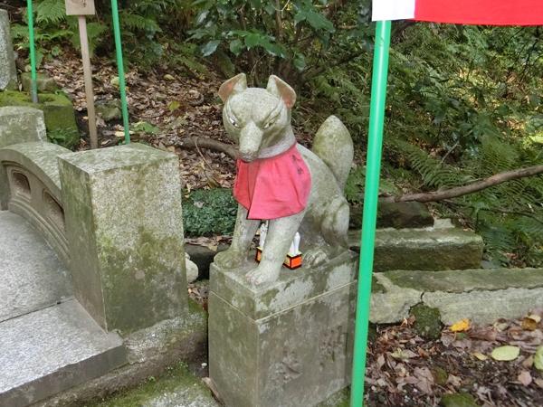 佐助稲荷神社の右の狐