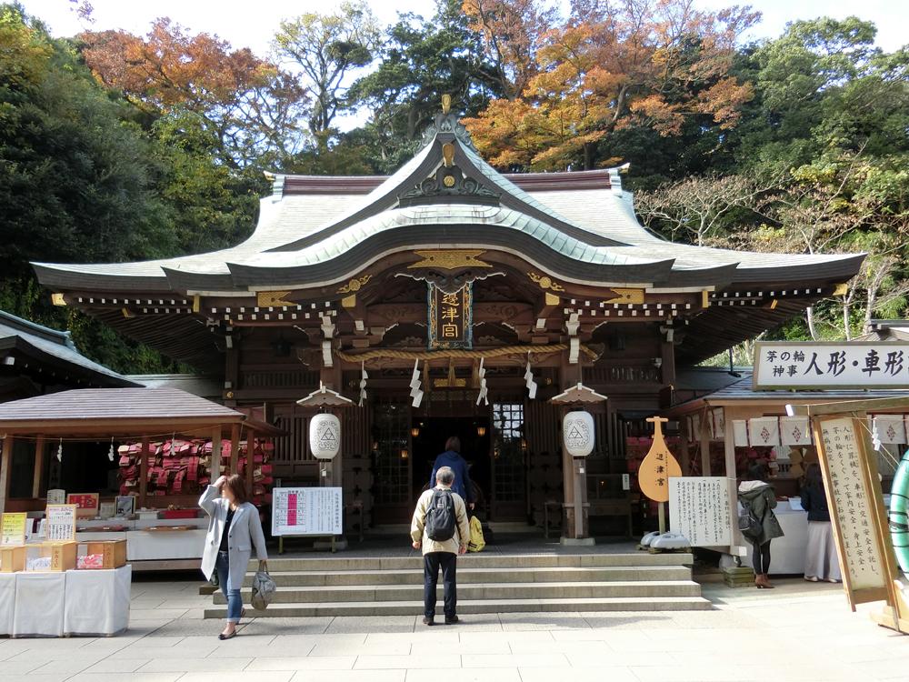 江島神社辺津宮の紹介