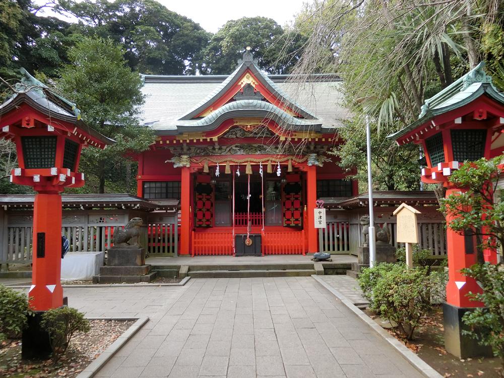 江島神社中津宮の紹介
