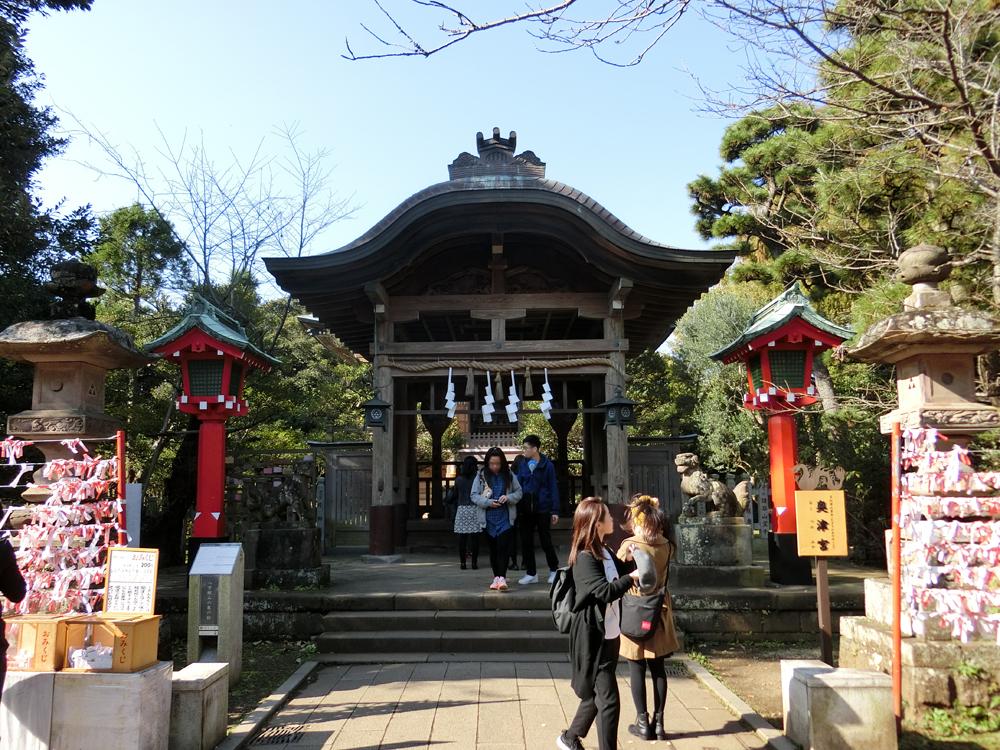 江島神社奥津宮の紹介