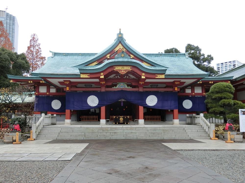 赤坂日枝神社の紹介