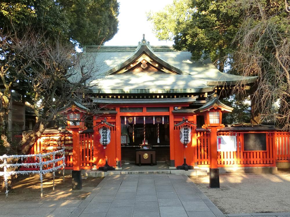 馬橋稲荷神社の紹介