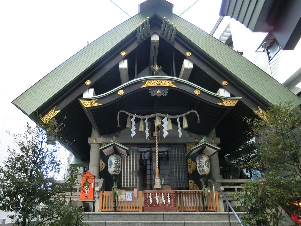 築土神社の紹介